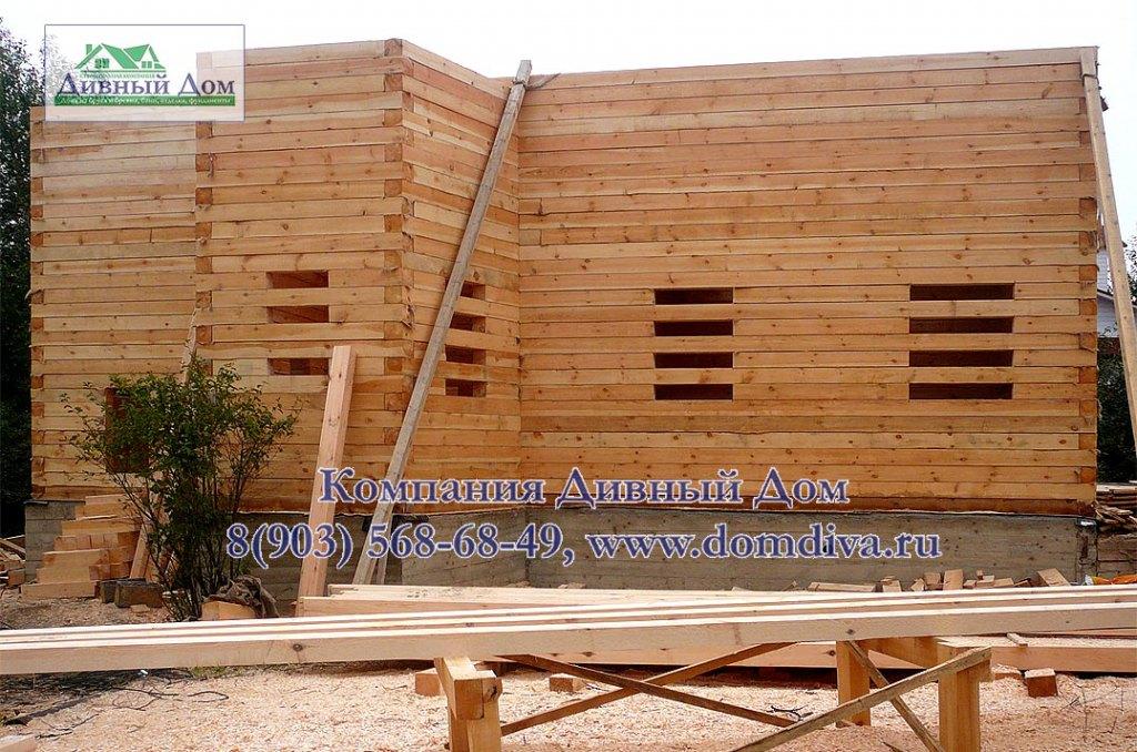 Как построить дом из бруса 150х150 своими  263