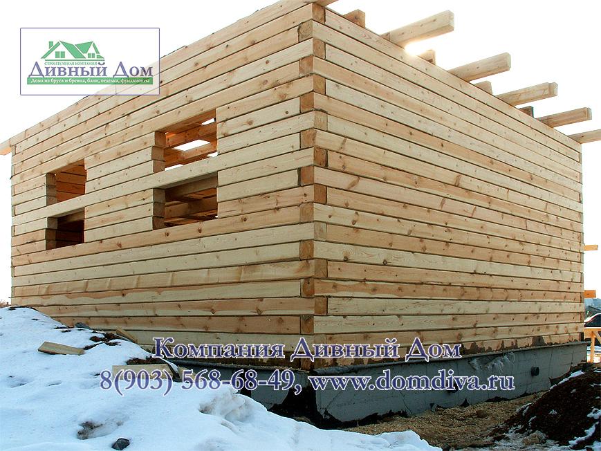 Как построить дом из бруса 150х150 своими  28